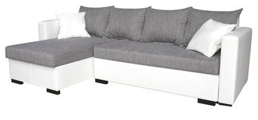 Nurgadiivan Platan Karol 01 Grey/White, 230 x 140 x 80 cm