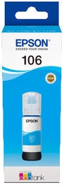 Epson 106 EcoTank Cyan Ink Bottle Cyan