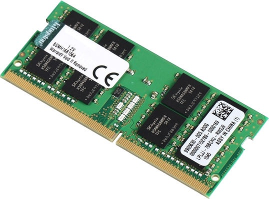 Kingston 16GB 2400MHz CL17 DDR4 SODIMM KCP424SD816