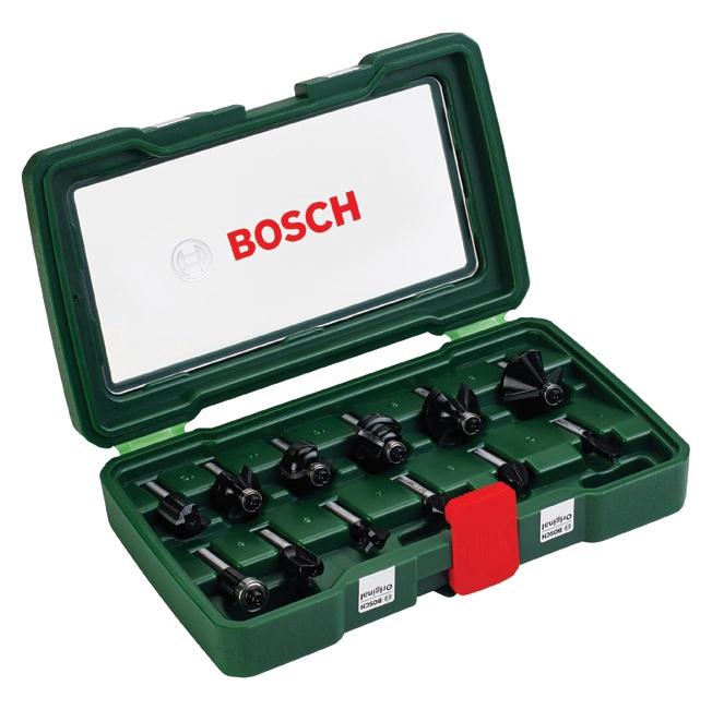 Bosch HM/CT Router Bit Set 12pcs