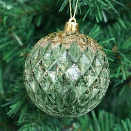 Jõulupuu ehe Christmas Touch SYPMQB-111989 Green, 80 mm, 3 tk