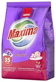 Стиральный порошок Sano Maxima Sensitive Concentrated, 1.25 кг