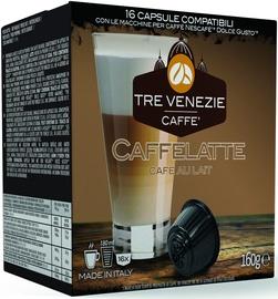 Cafee Tre Venezie Caffelatte komposteeritavad kohvikapslid, 16 kapslit