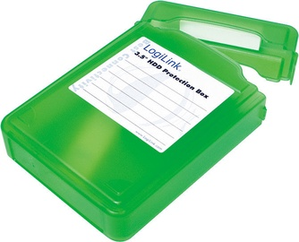 "LogiLink UA0133 3.5"" HDD Protection Box Green"