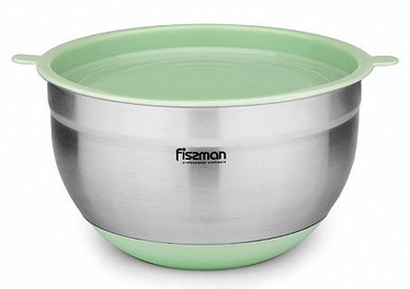 Fissman Mixing Bowl With Silicone bottom And PE Lid 24x13.5cm 4.5l