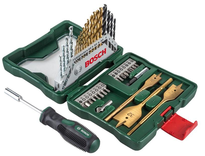 Bosch X-Line Titanium Set 40pcs