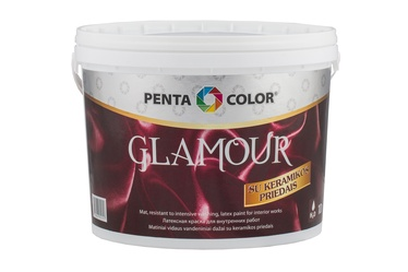 Краска для стен Glamour 10L белая