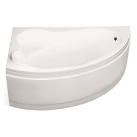 Besco Piramida Ada Bath 160x100x69cm White Left