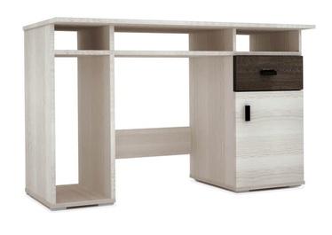 Idzczak Meble Nelly Desk Ash/Silver Oak