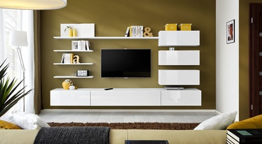 ASM Italy Living Room Wall Unit Set White