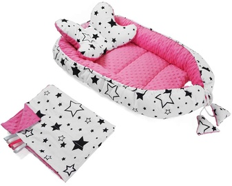 BabyLove Babynest Set Pink White Stars 106438