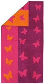 Rätik Bradley Pink/Orange, 70x140 cm