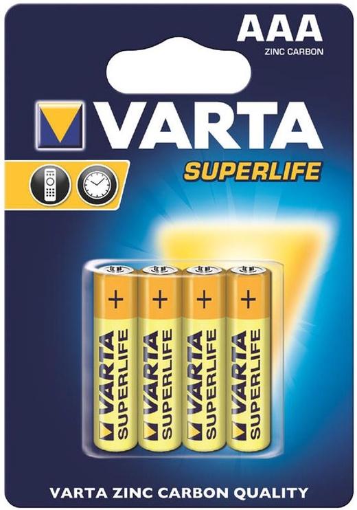 Varta Superlife Batteries 4x AAA