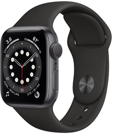 Apple Watch Series 6 GPS 40mm Space Gray Aluminum Black Sport Band