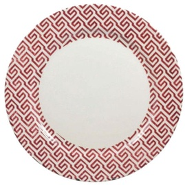 Claytan Shabby Chic Pink Plate 27cm