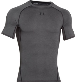 Under Armour 1257468 HeatGear Compression Shirt Grey L