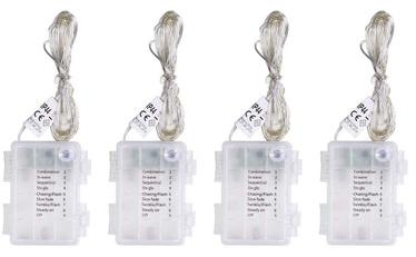 Электрическая гирлянда DecoKing LED Micro Fairy, теплый белый, 4x5 м