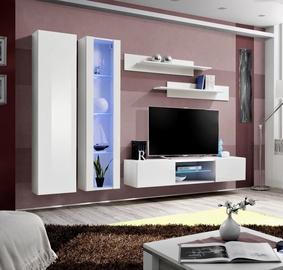 ASM Fly O4 Living Room Wall Unit Set White