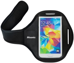 Vakoss Msonic Sport Arm Band For Up To 5'' Phones Black