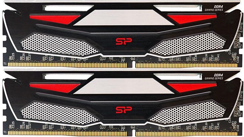 Silicon Power DDR4 Unbuffered DIMM (Heatsink) 16GB 2400MHz CL17 DDR4 KIT OF 2 SP016GBLFU240BS2