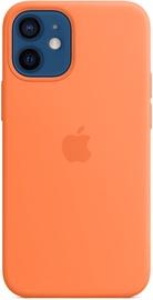 Apple iPhone 12 mini Silicone Case with MagSafe Kumquat