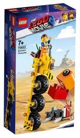 Konstruktor Lego The Movie Emmet's Thricycle 70823