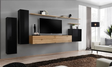 ASM Switch I Wall Unit Wotan Oak/Black