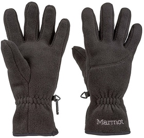 Marmot Womens Gloves Fleece Black L