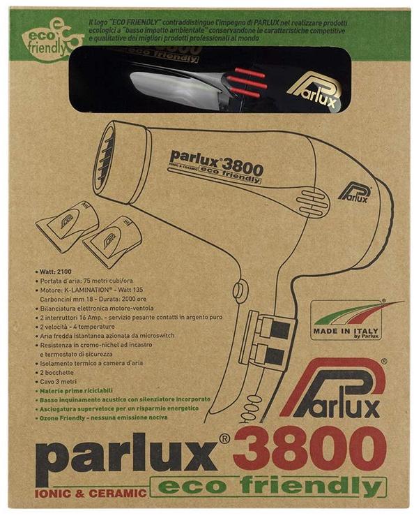 Föön Parlux 3800 Eco Ceramic Ionic Black