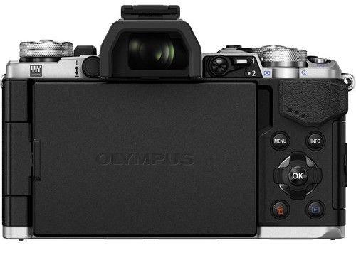 Olympus OM-D E-M5 Mark II Silver + 12-40mm F2.8 Lens Black