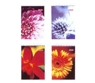 Märkmik Herlitz, lillemustriline