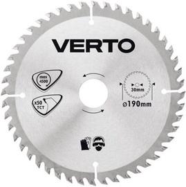 Verto Circular Saw Blade 190x30mm 50T