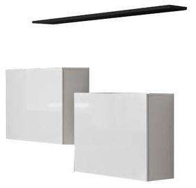 ASM Switch SB I Hanging Cabinet/Shelf Set White/Black Matt