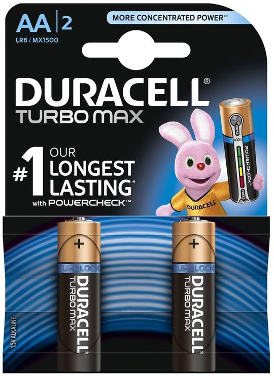 Duracell Alkaline Batteries AA 1.5V 2pcs