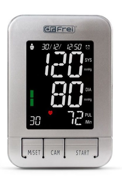 Dr.Frei M-400A Automatic Pressure Meter + Adapter