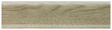 Põrandaliist SG50B3 2.5m, hall tamm PVC