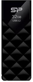 USB mälupulk Silicon Power Blaze B03 Black, USB 3.2, 32 GB