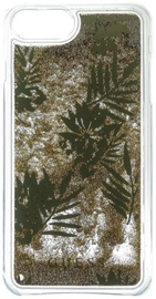 Guess Liquid Glitter Back Case For Apple iPhone 6/6s/7 Palm Green