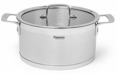 Fissman Fobus Casserole With Glass Lid D26cm 10.6l