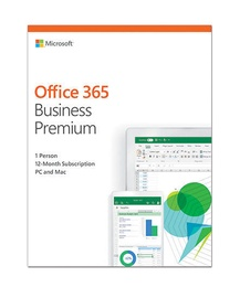Microsoft Office 365 Business Premium Retail 1-Year Eurozone Russian License Medialess
