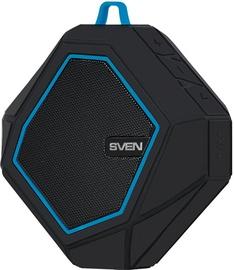 Juhtmevaba kõlar Sven PS-77 Black/Blue, 5 W