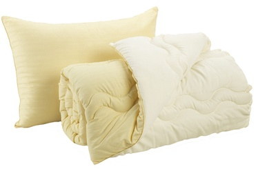 Dormeo Good Morning/Night Pillow and Duvet Set Yellow 140 x 200cm