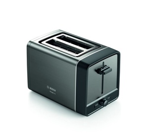 Тостер Bosch TAT5P425, черный/серый