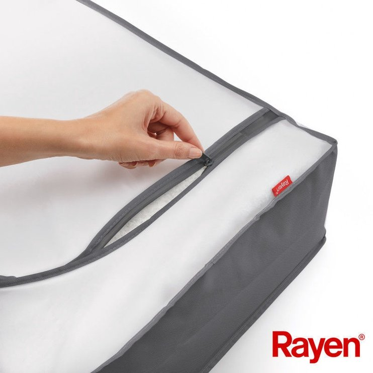 Rayen Premium Clothes Box 103x16x45cm Grey