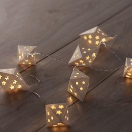 Электрическая гирлянда DecoKing LED Richi, теплый белый, 1.65 м