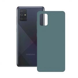 Ksix Silk Back Case For Samsung Galaxy A51 Green