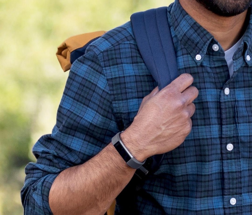 Fitbit Alta HR Small Blue/Gray