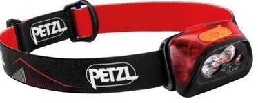 Petzl Actik Core Red/Black