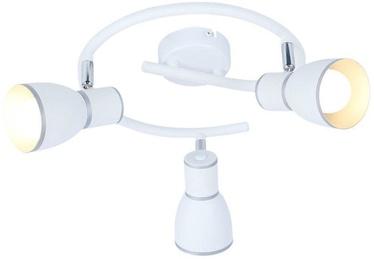 Candellux Fido Spotlight 3x40W E14 Spiral White Chrome