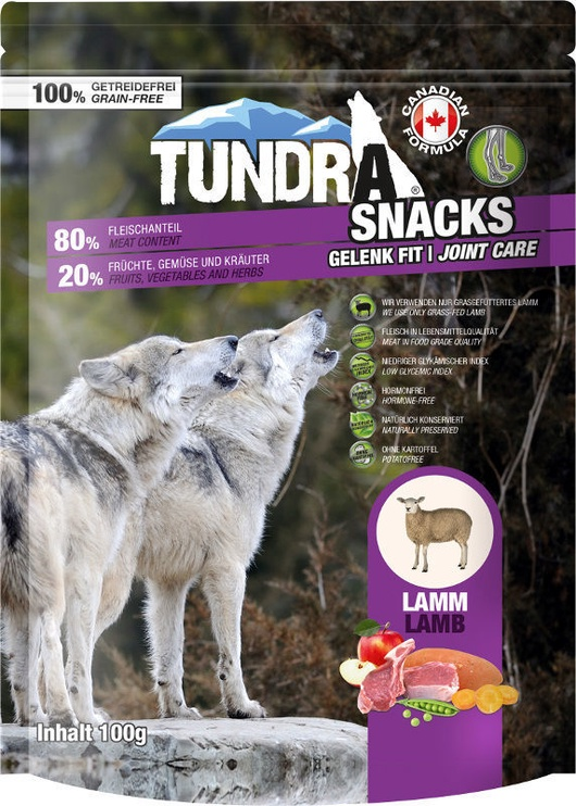Tundra Snacks Joint Care With Lamb 100g